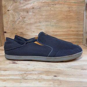 Olukai Nohea Mesh Gray Slip-On Casual Shoes Men's